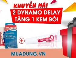 Mua 2 Chai Dynamo Delay Tặng Ngay Kem Bôi Screaming o