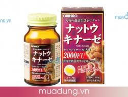 Viên Uống Ngừa Đột Quỵ Nattokinase 2000FU Orihiro Nhật